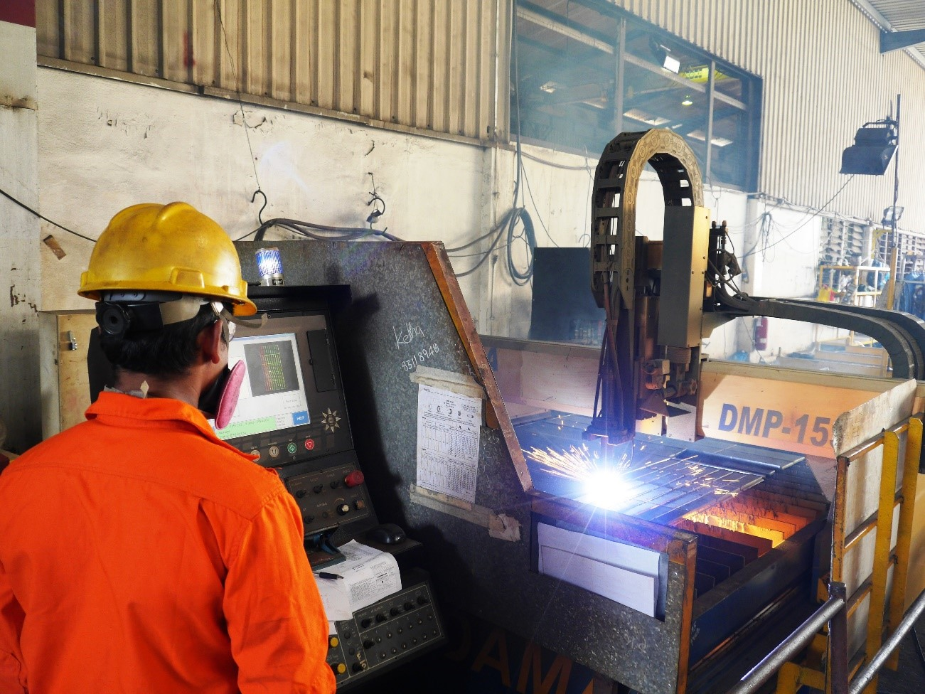 Structural Steel - Plasma Cutting